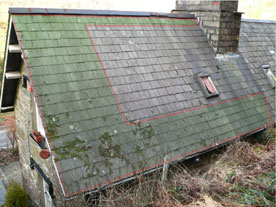 roof repair without spray coatings